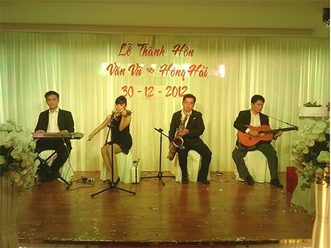 Ban Nhạc Tiệc Cưới Hay